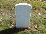 Sever Severson's headstone, 1864