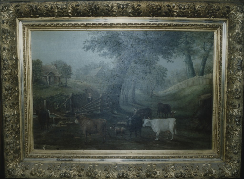 Pastoral scene with cattle