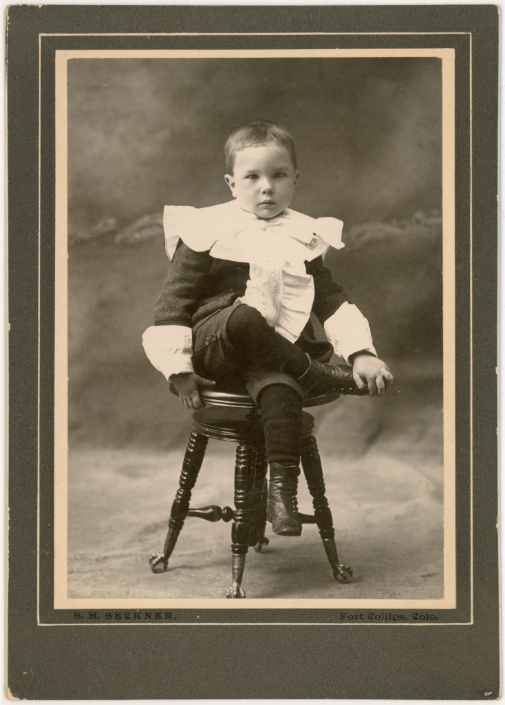 Clarence H Bailey ca 1896