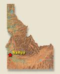 map-idaho-nampa