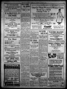 Victoria BC Daily Colonist 1916