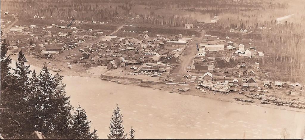Ft. George- our house and store   Fraser River