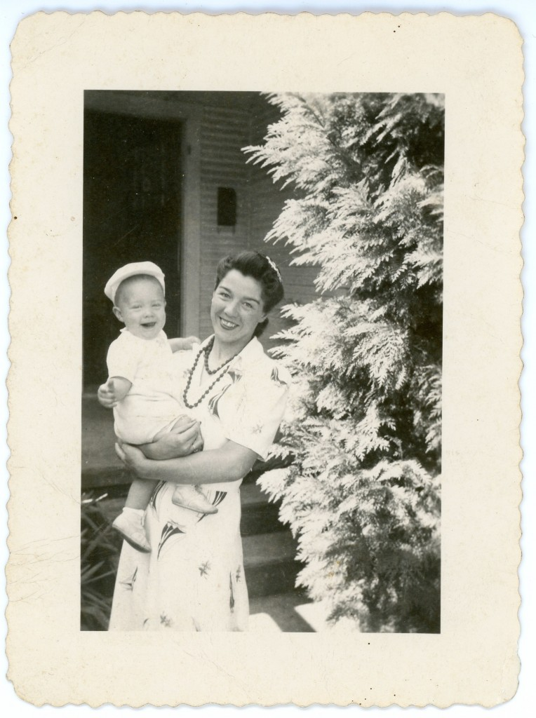 Dorothy Ruth (McMurry) Black and her son, Keith
