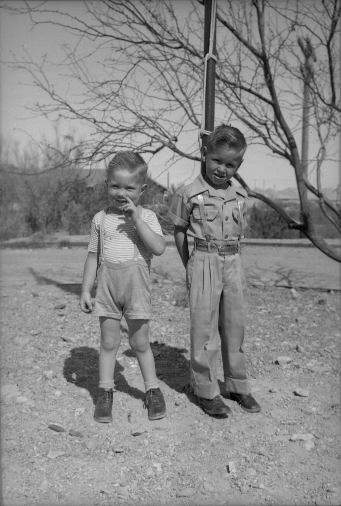 1946? Keith and Glenn 1