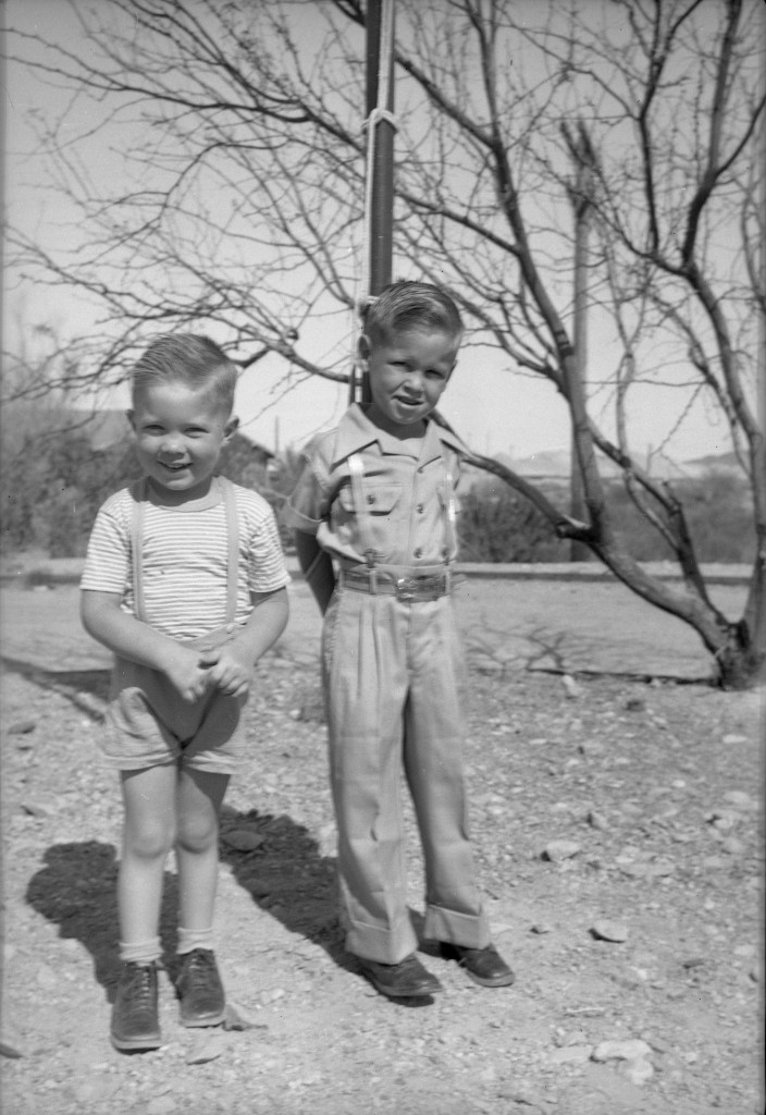 1946? Keith and Glenn 2