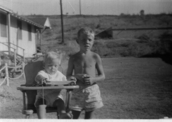1949 ?- Keith & Gary at Hoff Heights