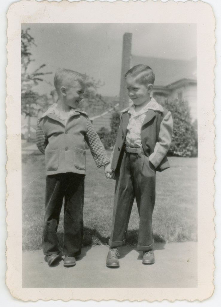 1949 ?- Jude Laspa and Keith Black