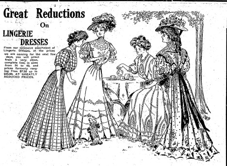Lingerie dresses
